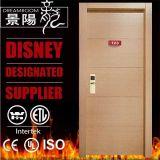 60 минут UL деревянные двери с Certifcate пожара