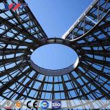 Estructura de acero diseñado previamente para el almacenamiento de acero prefabricados Casa para oficina Bodega Taller de Construcción de metal