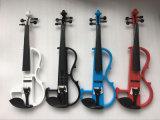 싼 판매를 위한 흑단 Fingerboard를 가진 빨간 전기 바이올린