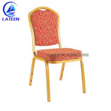 Metal de aluminio apilable Hotel Restaurante banquetes mobiliario sillas