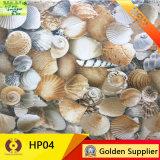 Fuera de Shell 3D en el interior de cerámica esmaltada pared Baldosa (HP01).
