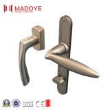 Mitten-geöffnete Entwurfs-Doppelverglasung-Aluminiumfalz-Tür