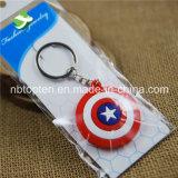 Suporte chave plástico do protetor super por atacado do capitão América dos Avengers do herói