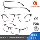 Nuovi occhiali mezzi di alta qualità dei blocchi per grafici di vetro dell'orlo del telaio dell'ottica del metallo di modo di disegno