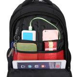 Computer-Rucksack des Polyester-600d des Gelb-15inch für Jugendliche