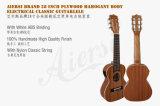 Corps d'acajou 6-String électrique Guitarlele de qualité d'Aiersi 28 pouces