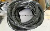 Trenzado de alambre de tungsteno puro en la superficie negra Dia0.77mm