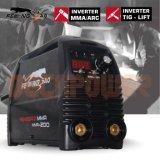 machine de soudure portative du coefficient d'utilisation de la soudeuse 60% d'inverseur de 200A IGBT MMA
