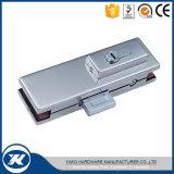 Yakoのハードウェアのユニバーサルステンレス鋼の床のばねのドアガラスクランプ