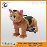 Cadeau d'anniversaire ! 12V animal en peluche des jouets en peluche Ride sur des roues