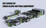 Cortadora grande del laser de la fibra del CNC del metal de la potencia 500W de Eks Esf-3015A