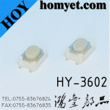 De in het groot Elektronische Schakelaar van de Tact met de Lange Witte Basis van het Handvat van de Basis Ronde (hy-3602L)