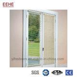 Китайцы изготовляют оптовый декоративный стеклянный алюминиевый французский Casement Windows
