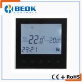 Termóstato de la calefacción de suelo del sitio del sistema de la HVAC con la función de bloqueo del niño