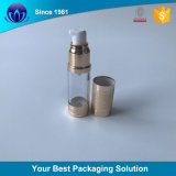 imballaggio crema del mini del lattice di 15ml 30ml 50ml della bottiglia occhio liquido cosmetico di plastica della lozione
