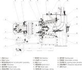 Lwl 350水平ねじ排出のフィルタに掛ける遠心分離機