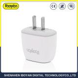 Carga rápida USB de color blanco con protección contra sobrecorriente