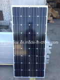 Mono pile solari 150W 12V per il sistema solare 5kw