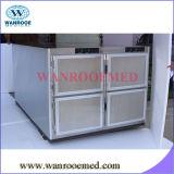 Refrigerador frio da morgue do gabinete do cadáver dos corpos Ga306 seis