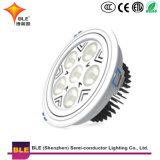 Для использования внутри помещений светодиодный индикатор на потолок 35W Downlights круглой поверхности дизайн