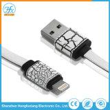 Dati del USB di Custimized 5V/2.1A che caricano il cavo del telefono mobile