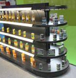 Flexibles LED Gefäß-Licht des Aluminiumrahmen-für das Beleuchten des Preises und der Toiletories Waren
