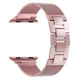 金属が付いているミラノのループはApple 38mmバンドのための時計バンドに玉を付ける
