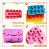 Hermoso Venta caliente flexible de silicona de resistencia al calor del molde Chocolate