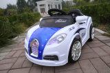 Paseo pintado de los cabritos de los niños en el mini coche eléctrico 12V del juguete
