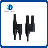 Marcação IP67 do Painel Solar PV de alimentação do cabo de derivação MC4 Conector em T