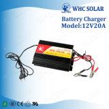小型サイズ自動12V 20Aの太陽エネルギーシステム充電器