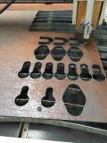 Corte del plasma del CNC de la hoja de acero del metal y perforadora