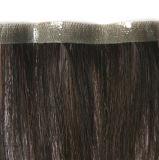Plena Handtied rubia de cabello virgen de la trama de la piel (PPG-L-0584)