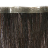 Blonder voller Handtied Jungfrau-Haar-Haut-Einschlagfaden (PPG-l-0584)