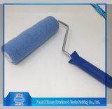 Tipo blu della gabbia del rullo di vernice del poliestere di colore