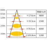 PAR30 ampola de ponto claro da PARIDADE do diodo emissor de luz da ESPIGA 33W