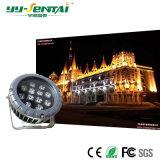 IP66 12W Projecteur extérieur LED étanche pour /l'éclairage architectural/éclairage de jardin