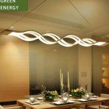 Aluminium-LED gewundener Leuchter der Form-teures Hotel-Vorhalle-