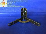 Bisagra de tamaño mediano del latón de la antigüedad del rectángulo de joyería
