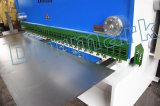 La esquila de guillotina hidráulica CNC Máquina de corte vertical con