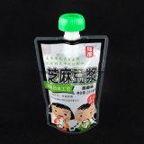 Faltender Sport-Getränkeplastikkessel Sports Flaschen-Düsen-Beutel