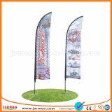 Usine de Polyester promotionnel coloré beach flag flying