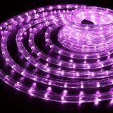 Рождество LED 11мм Фиолетовый светодиодный индикатор 220V веревки света внутри и вне помещений