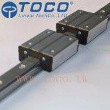 Longerons linéaires en aluminium de voie de guidage linéaire