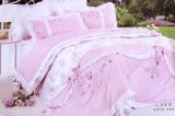 Embroidered Microfiber Bedding set Comfortable softly NOT Fade Styles