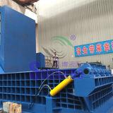 Sucata hidráulica do tubo de aço de ferro Enfardadeira Reciclagem