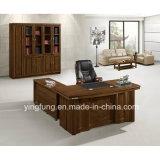 L bureau exécutif de meubles en bois modernes de forme Yf-1814