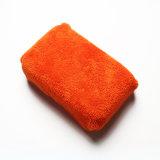 Toalha de lavagem da esponja do carro (pano do microfiber) (com engranzamento e bolso)