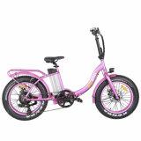 """36V 250W die elektrischen Fahrräder, die E falten, fährt 20 """" faltbare E Fahrräder der Zoll-Rad-mit Ladung-Zeit 6 Stunden rad"""