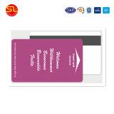 Cartões transparentes do PVC da boa qualidade